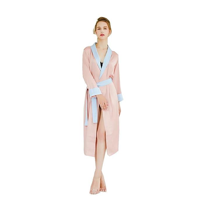 Bata Pijama De Damas Albornoz Bata Pijamas Suaves Pijamas Largos De Pareja Masculina Y Femenina Pijamas