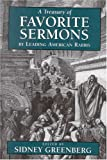 A Treasury of Favorite Sermons by Leading American Rabbis, Sidney Greenberg, 0765760614