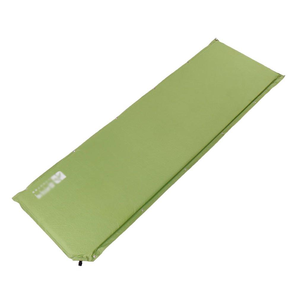 Feuchtigkeitsfeste Matte Zelt-im Freien Starke wasserdichte Matte Automatische aufblasbare Kissen-einzelne Schlafenauflage-Luft-Bett (Farbe : Grün)
