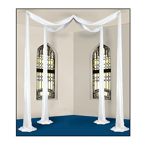Elite Collection Celebration Canopy (white; covers approximately 32 sq. ft.) Party Accessory  (1 count) (1/Pkg) -