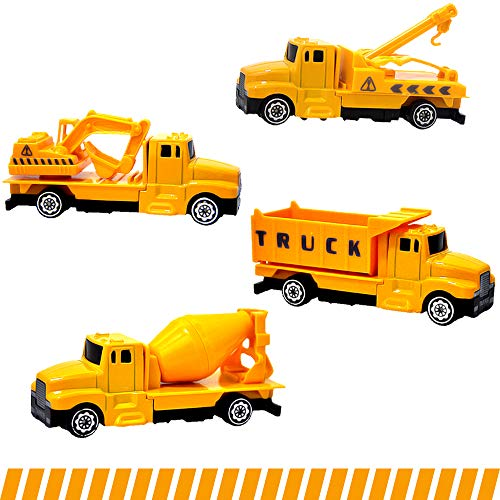 Gimilife Toy Trucks, Toy Car, Medium Toy Play Vehicles Toddlers,Trucks Construction Vehicles Toys 41:60 Die-Cast Alloy Toy Cars Set, Baby Educational Toys Gift Boys Girls Children Over 3 Years Old from Gimilife