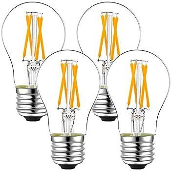 Dimmable 40w A15 Led Bulb E26 Ceiling Fan Light Bulbs 2700k Vintage Led Edison Bulb 40w