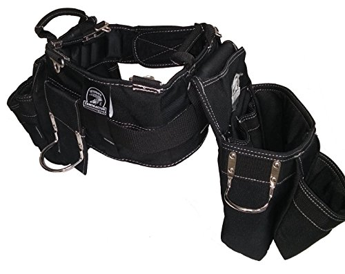 Gatorback Professional Carpenter's Tool Belt Combo w/ Air-Channel Pro Comfort Back Support Belt. (Medium 31-35 Inch Waist) by Gatorback (Image #6)