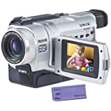 "Sony DCRTRV740 Digital8 Camcorder w/ 2.3"" LCD, USB Streaming, Memory Stick, & Mega Pixel Video/ Still (Discontinued by Manufacturer)"
