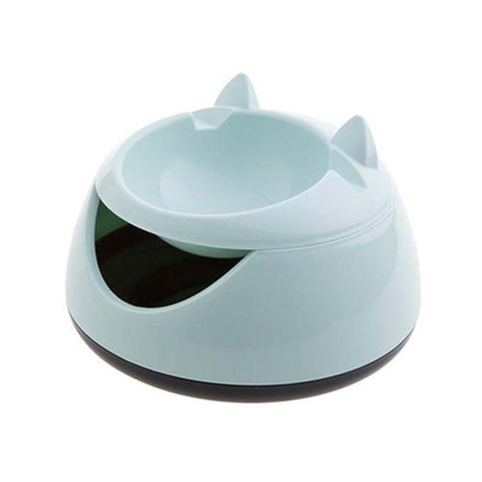 Zantec Enfriador de agua, Dispensador eléctrico automático del agua de la fuente de agua del animal doméstico automático para el perro, gato: Amazon.es: ...