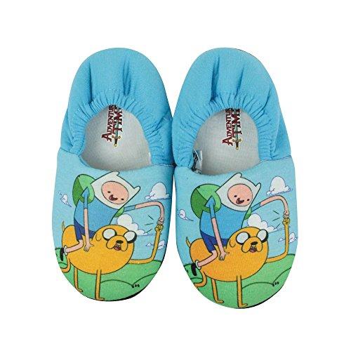Hora de aventuras - Zapatillas de estar por casa oficiales para niños Azul