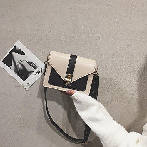 Femme nbsp;Petit Sauvage Sac Fashion carré Noir WSLMHH à épaule Sac marée bandoulière Ot6dqq1x