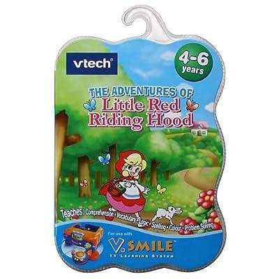 V Smile Game Little Red Riding Hood: Toys & Games