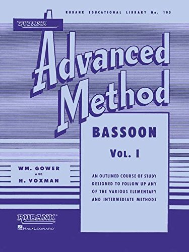 Book 1 Bassoon - Rubank Advanced Method - Bassoon Vol. 1 (Rubank Educational Library)