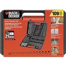 Black & Decker BDA91109 Combination Accessory Set, 109-Piece