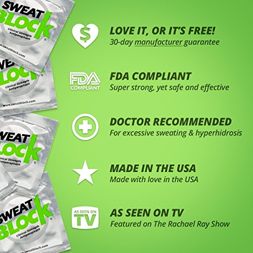 SweatBlock Antiperspirant - Clinical Strength - Reduce Sweat up to 7-days per Use by SweatBlock (Image #8)