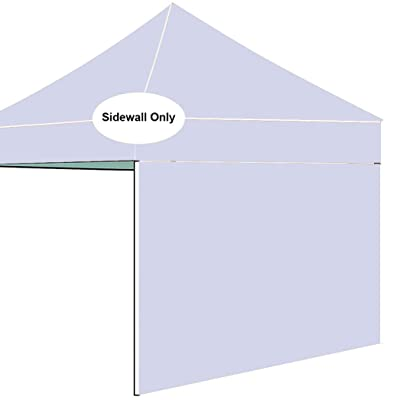 AMERICAN PHOENIX Side Walls for Straight Leg Pop Up Tent Canopy SunWalls Only 1 Pack Sunshade Sidewalls (for 5'x5', White) : Garden & Outdoor