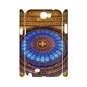 Ecaseshop Samsung Galaxy Note 2 N7100 case Holy Christian,Customized Hard 3D Case XB214953