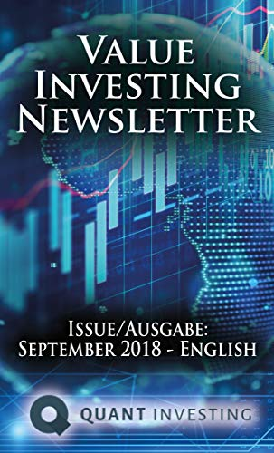 Amazon com: 2018 09 Value Investing Newsletter by Quant Investing