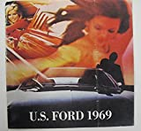1969 Ford Mustang Galaxie Fairlane Torino Cougar Lincoln Brochure Dutch