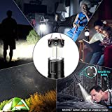 EZORKAS 2 Pack Camping Lanterns, Rechargeable Led
