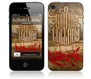 Zing Revolution MS-ASLU10133 iPhone 4- A Static Lullaby- Rattlesnake Skin by icecream design