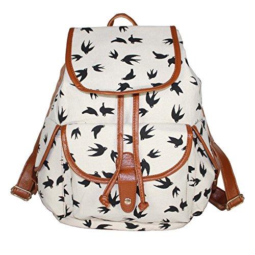 Yonger Rucksack Travel Casual Hobo Satchel Bookbag Backpack School Bag Woman