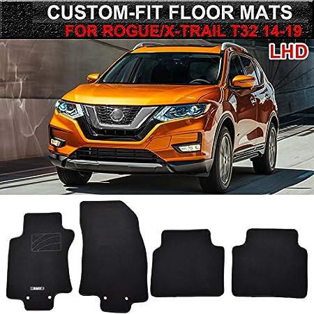 Beige,2014-2019 Car Floor Mats Waterproof Front /& Rear Liner Mat Carpet for Nissan Rogue