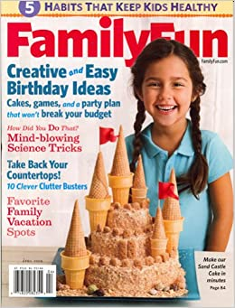 Family Fun April 2008 Issue Editors Of FAMILY FUN Magazine Amazon Books