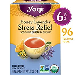 Yogi Tea - Honey Lavender Stress Relief ...