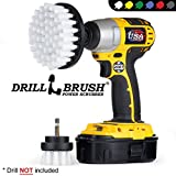 Drill Brush - Cleaning Brush for Drill - Power Scrubber Drill Brush - Drill Brush Set - Drill Brush Attachment - Glass Cleaner - Car Carpet - Drill Brush Rims - Drill Brush Wheels - Car - Boat