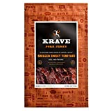 Krave Grilled Sweet Teriyaki Pork Jerky 16 Ounce
