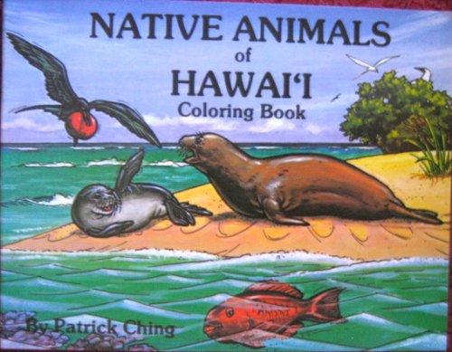 native animals of hawaii coloring book patrick ching 9780935848557 amazoncom books - Hawaii Coloring Book