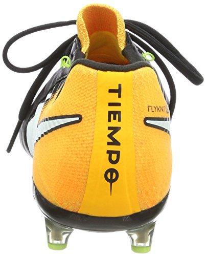 Nike Herren Tiempo Legend VII AG-Pro Fußballschuhe Schwarz (Black/White-Laser Orange-Volt-Black)