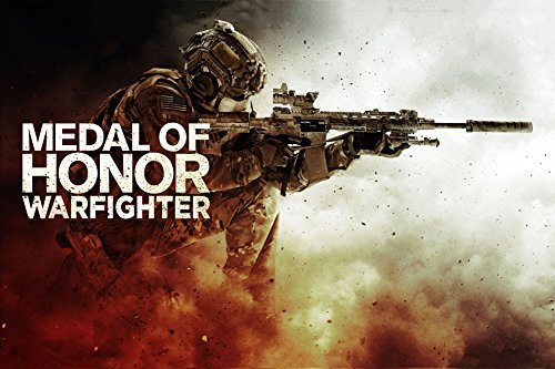 Tomorrow sunny G213 Medal of honor warfighter Game Poster Art Wall Pictures for Living Room in Canvas fabric cloth Print (Medal Of Honor Warfighter Poster)
