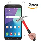 [2 PACK] Asstar For Samsung Galaxy J7 V / J7V (Verizon) / Galaxy J7 Perx / Galaxy J7 Sky Pro Screen Protector [Tempered Glass] 9H Hardness 2.5D Tempered Glass Bubble-Free Screen Protectors