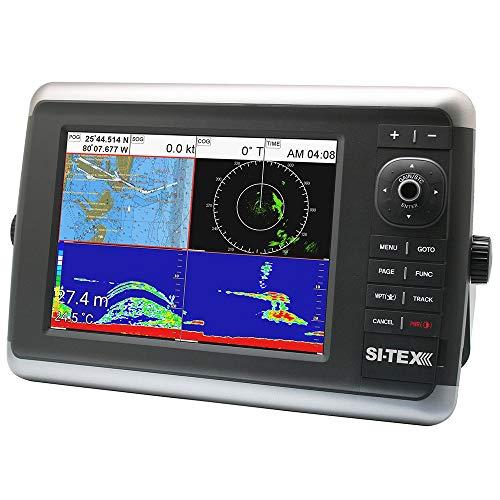 (Si-Tex Navstar 10r Gps Chartplotter, Sonar, Radar System W/Mds-12 Radar And Internal Gps Antenna)