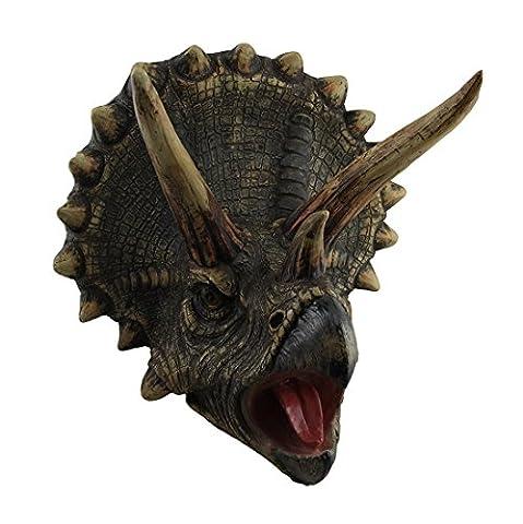 Unknown D83344 Dragon Head, Dinosaur Head Wal Hanging Animal Head, Large - Dinosaur Head