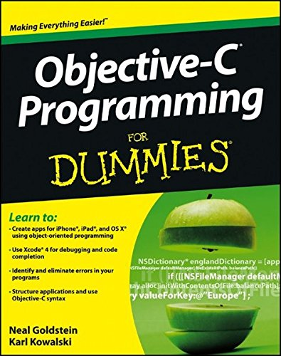 Objective-C Programming For Dummies ISBN-13 9781118213988