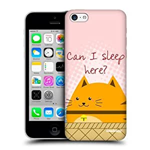 Sleeping Curious Cats Protective Back Case Cover For Apple iPhone 5c