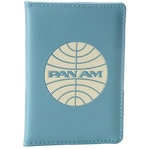 Pan Am Men's Passport Cover-4, Flight Blue, X-Small