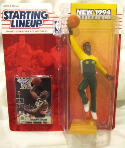 Starting Lineup Sports Superstar Collectibles 1994 Shawn Kemp