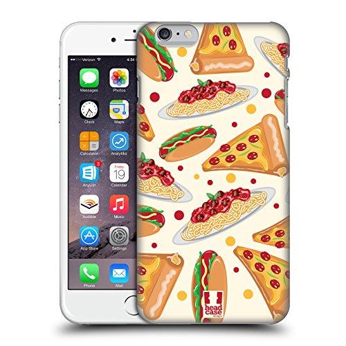 Head Case Designs Pizza Delizie Cover Retro Rigida per Apple iPhone 6 Plus / 6s Plus