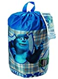 Monsters University Indoor Sleeping Bag in printed Drawstring Bag