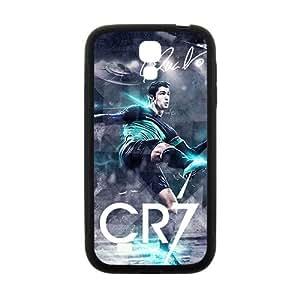 JIANADA Hansome Cristiano Ronaldo Pattern Plastic Case For Samsung Galaxy S4