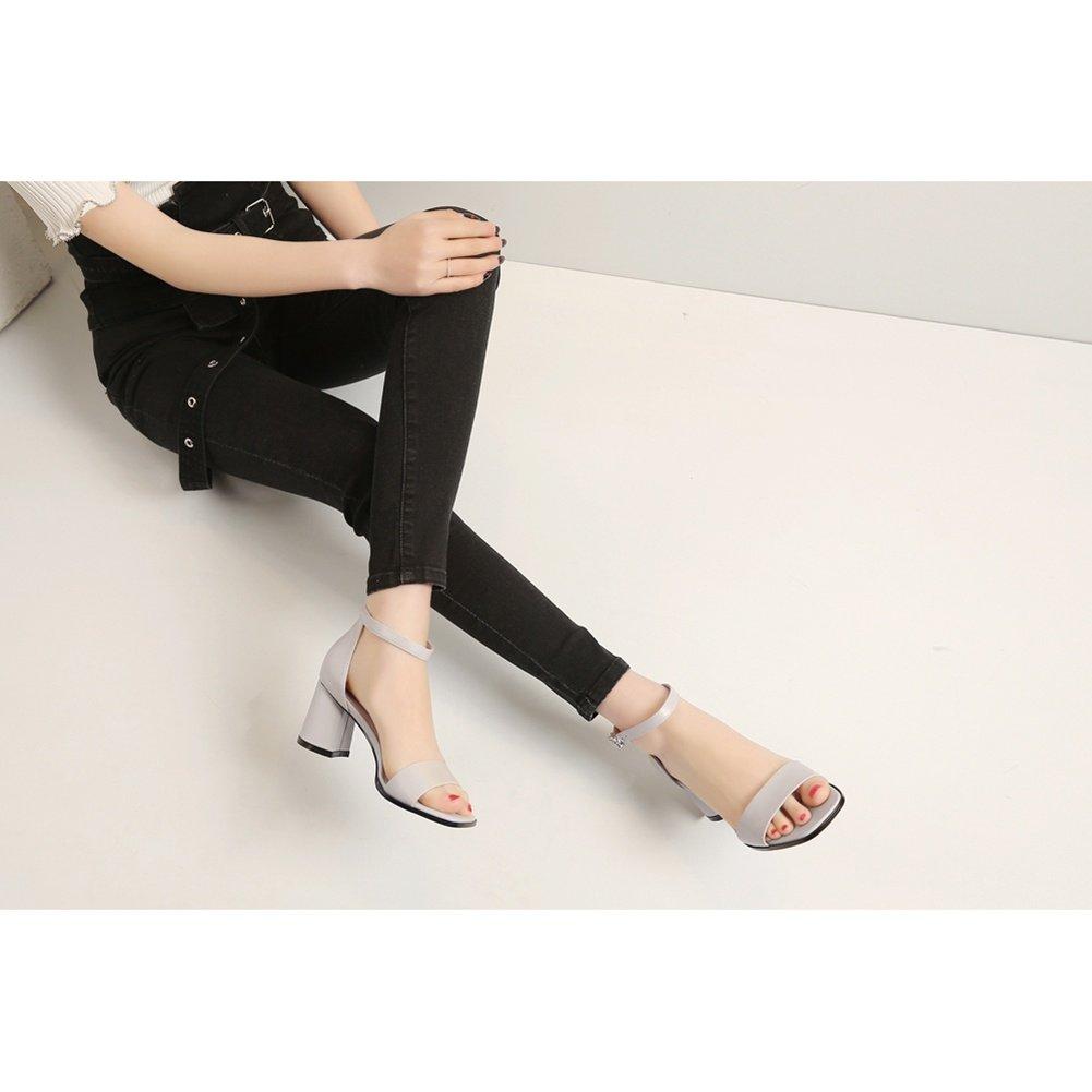 LNGXE Pantoletten Damenschuhe Sandalen Sandaletten WSXY-L0516 Lack Einfache Serie Sandaletten Lack WSXY-L0516 Schlappen Hausschuhe Schuhe adfb39