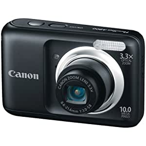 Canon Powershot A800 10 MP Digital Camera with 3.3x Optical Zoom (Black)