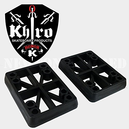 - Khiro Hard Riser Set 1/2 Inch Taper Wall Black