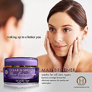 Skin Lightening Cream: Stronger Formula. Whitening and Brightening from 4 Natural Skin Lighteners. All Skin Types. All Body Areas. Safe Alternative to Bleaching. Even Out Skin Tone. Large Jar - 3.4 oz