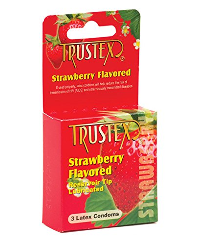 Trustex Flavored Condoms 3 Pack - Strawberry