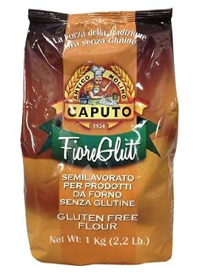 Antico Caputo Fiore Glut Gluten Free Flour 1 Kilo (2.2 lb) Bag