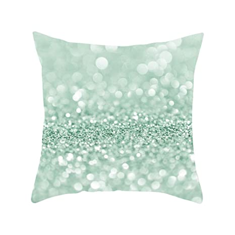 yongqxxkj Relax Serie Verde Menta Funda de Almohada sofá Cintura Throw Funda de cojín Home Office Decor – 9#, 16#, 16#