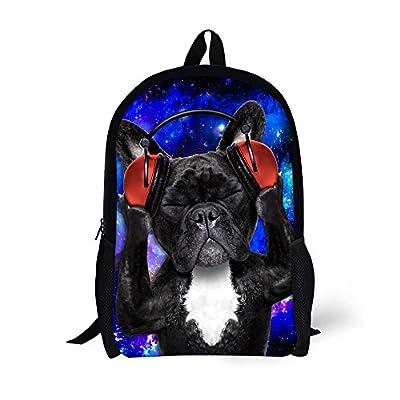 chic Mumeson Kids Backpack Funny Music Dog Cat Design Cute School Bags Book  Bag c5b93b6db6d8b
