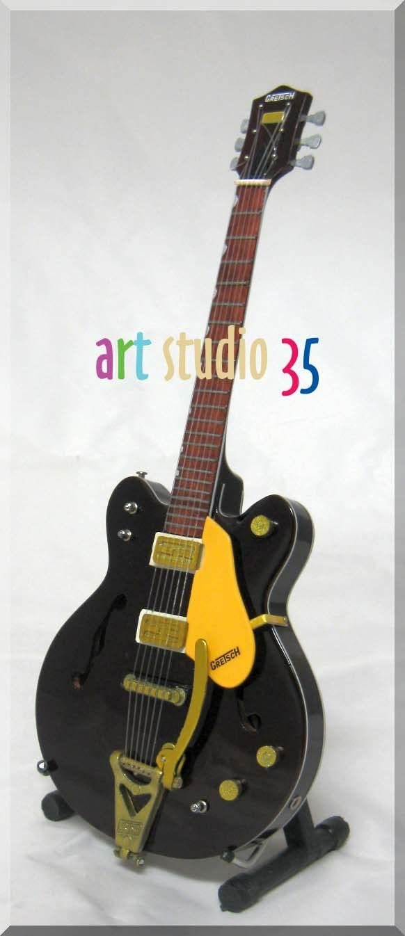 George Harrison guitarra en miniatura BEATLES país Gentleman