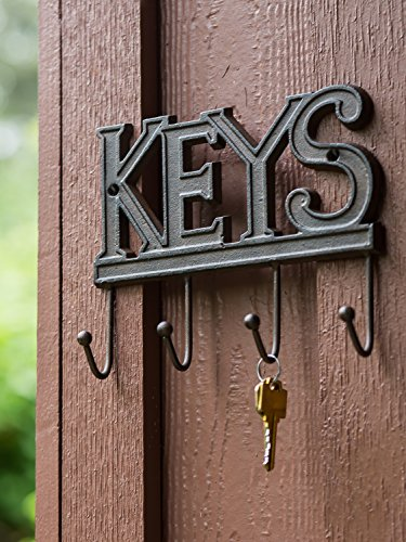 comfify key holder keys wall mounted key hook rustic. Black Bedroom Furniture Sets. Home Design Ideas